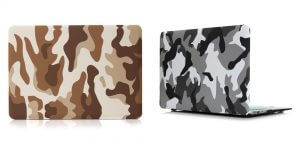 5. City Camo Cover Protective Laptop Case for Apple Macbook with Retina 13 Inch