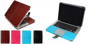 6. Welink PU Leather Case for Apple Macbook Pro with Retina 13 Inch