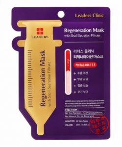 8. Leaders Clinic Regeneration Mask With Snail Secretion Filtrate
