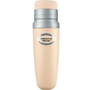 6. Physicians Formula Talc-Free Mineral Wear Liquid Foundation