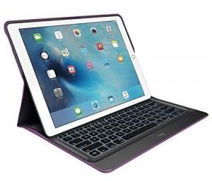 2. Logitech Create Backlit Keyboard Case with Smart Connector
