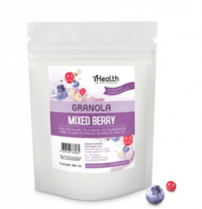 2. iHealth Granola รส Mixed Berry