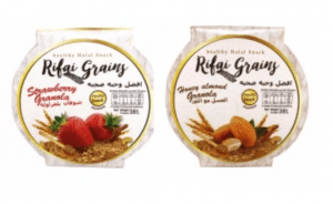 7. Rifai Grains รส Strawberry Granola และ Honey Almond Granola