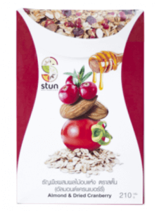 5. Stun รส Almond & Dried Cranberry