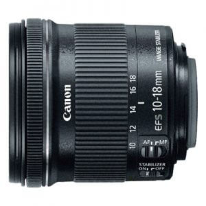 7. Canon EF-S 10-18mm f/4. 5- 5.6 IS STM