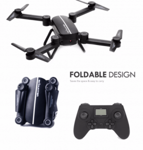 4. FLYSTER X8TW SKYHUNTER Foldable RC Pocket Drone