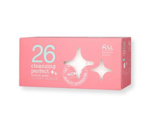3. Rii 26 Cleans Perfect Cotton Pads