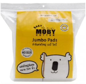 7. Moby Water jet Jumbo Cotton Pads