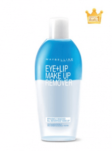 2. Maybelline New York – Eye & Lip Make Up Remover
