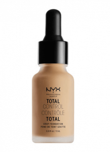 10. NYX Total Control Drop Foundation (13 ml)