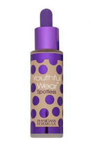 8. Physicians Formula Youthful Wear Cosmeceutical Youth-Boosting Spotless Foundation SPF15