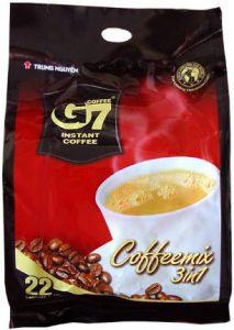 10.G7 Instant Coffee 3In1 Coffee Mix