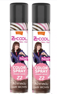4. LOLANE Z-Cool Hair Color Spray (75 ml)