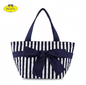 9. NaRaYa รุ่น Stripes Quilted With Ribbon