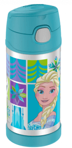 6. THERMOS รุ่น FUNtainer® Vacuum Insulated Stainless Steel Bottle 12oz Disney Frozen