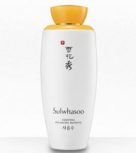 10. Sulwhasoo Essential Balancing Water Ex (125 mL)
