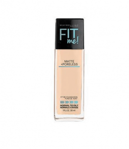 3. Maybelline - Fit Me Matte & Poreless foundation