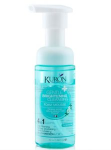 7. Kuron Gentle Brightening Cleansing Mousse (150 ml x 2 Piece/Pack)