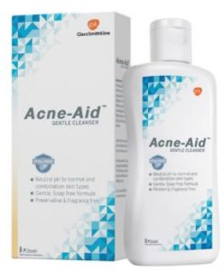 4. Acne-Aid Gentle Cleanser (100 ml)