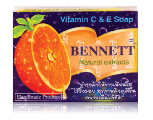 9. BENNETT - Natural Extracts Vitamin C&E Soap 130 กรัม