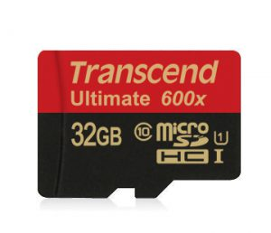 6.Transcend Ultimate 600x class10,UHS-I U1 (32GB)