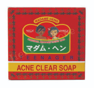 3.  สบู่ก้อน Madame Heng Acne Clear Soap (150 g)