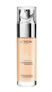10. L'oreal Paris - True match liquid foundation