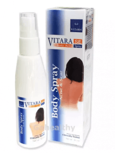 2. Vitara SE Body Acne Spray (50 ml)