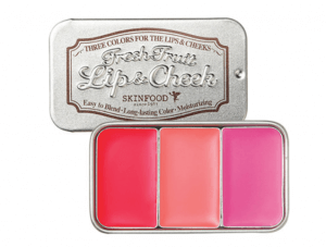 2. SkinFood - Fresh Fruit Lip & Cheek Trio