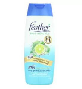 2. Feather Refreshing Hair & Scalp Shampoo (340 ml)