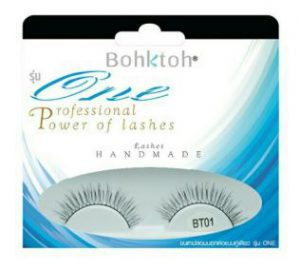 1. Bohktoh One Eyelashes #BT01 (1 Pair)