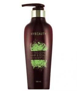 7. Hybeauty Vitalizing Hair & Scalp Shampoo (300 ml)
