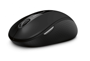 4. Microsoft Wireless Mobile Mouse 4000 Blue Track Technology
