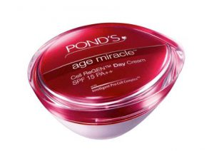 2. Pond`s Age Miracle Cell ReGEN Day Cream SPF 15 PA++