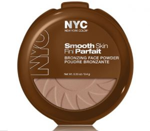 1. NYC New York Color Smooth Skin Bronzing Face Powder (9.4 g)