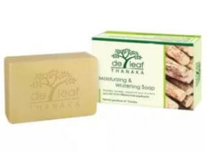 5. De Leaf Moisturizing & Whitening Soap (100 g)