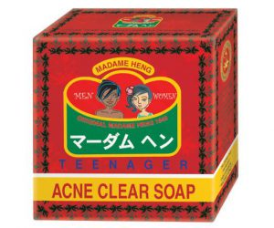 6.Madame Heng Teenager Acne Clear Soap (150 g x 3 Bars)