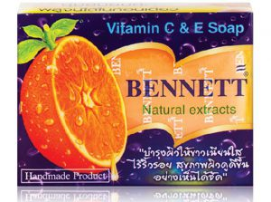9.Bennet Natural Extracts Vitamin C&E Soap (130 g)