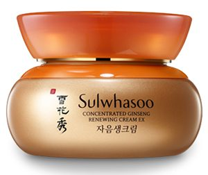 1. Sulwhasoo Concentrated Ginseng Renewing Cream EX (5 ml)