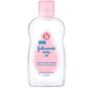 1. Johnson's Baby Oil (300ml)