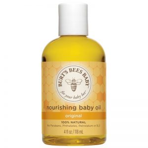 10. Burt's Bee Baby Bee Nourishing Baby Oil (118ml)