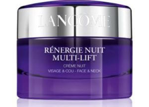 3. LANCOME Renergie Nuit Multi-Lift Night Cream (15 ml)