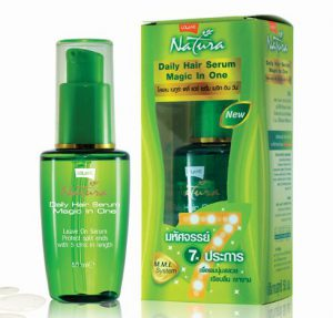 4. Lolane Natura Daily Hair Serum Magic in One (50 g)