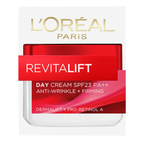 7. L'OREAL Paris Revitalift Anti-Wrinkle+Firming Day Cream SPF23/PA++ (50 ml)