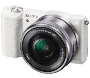 2. SONY α5100 E-MOUNT CAMERA WITH APS-C SENSOR