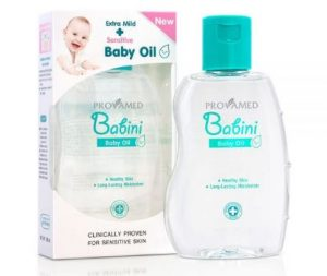 8. Provamed Babini Baby Oil (160ml)