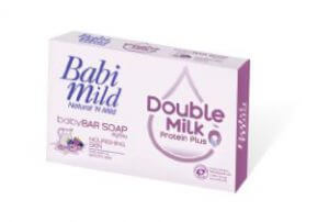 8. Babi Mild Double Milk Protein Plus (75 g x 4 Bars)