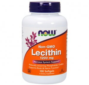10. Now - Lecithin 1200 mg