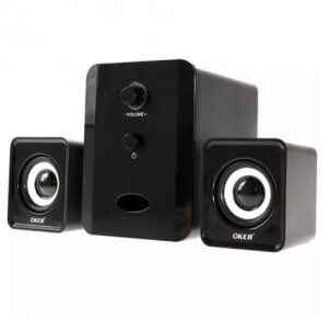 7. OKER - รุ่น SP-835 USB Multimedia Speaker Micro 2.1