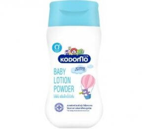 3. Kodomo Baby Lotion Powder (180 ml)